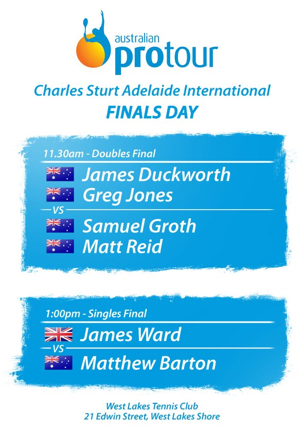 Finals Timetable