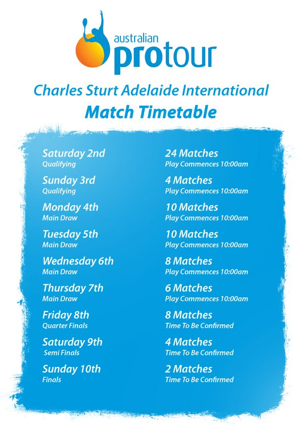 Match Timetable
