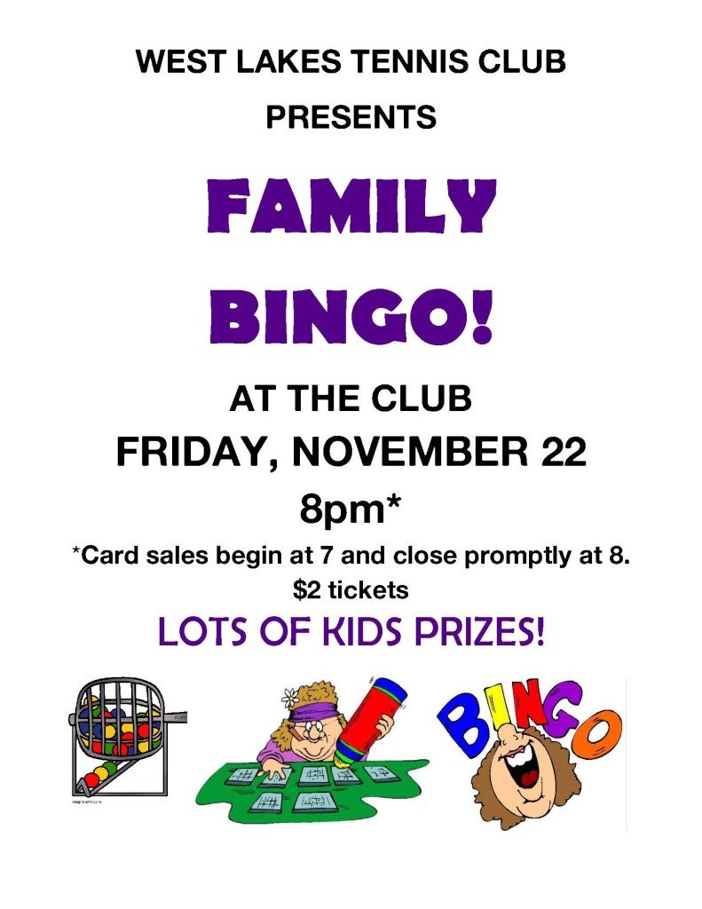 Family Bingo Poster